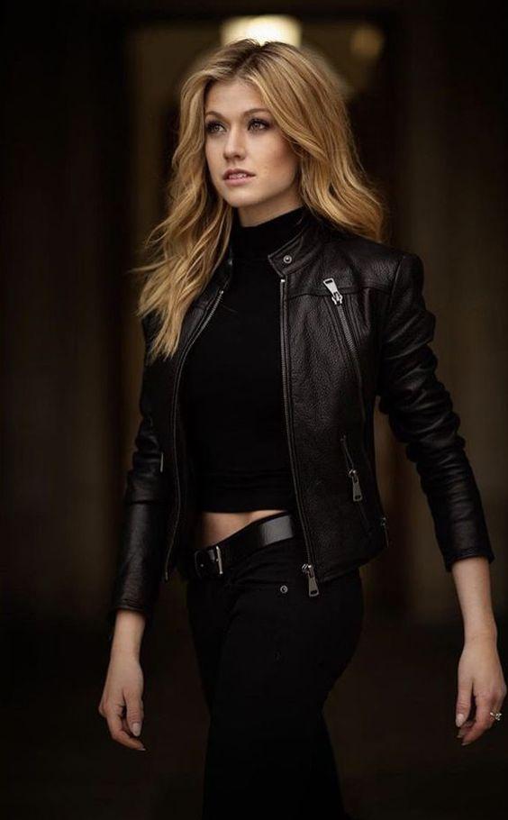 Biker jacket:με total black ντύσιμο