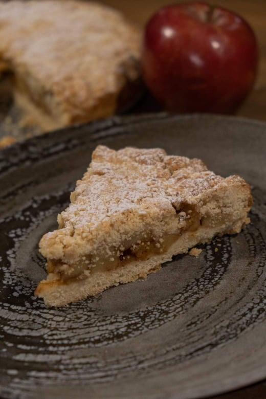 Η συνταγή για τριφτή μηλόπιτα του live Kitchen που έριξε το facebook