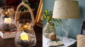 15 diy διακοσμητικά χώρου και όχι μόνο για το σπίτι φτιαγμένα από σπάγκο & σκοινί!