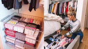 Χρήσιμα tips για να οργανώσεις τα ρούχα & να αποθηκεύσεις τα καλοκαιρινά!