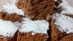 Υγιεινό & αφράτο κέικ με ταχίνι & ζάχαρη καρύδας!