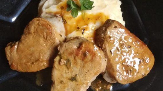 Ψαρονέφρι με σάλτσα μελιού & μουστάρδας!