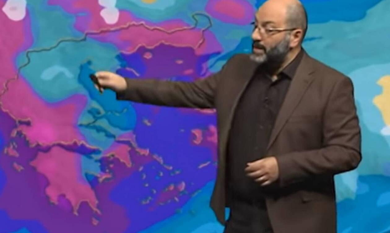 Αρναούτογλου: Έρχονται νέα ισχυρά καιρικά φαινόμενα- Δείτε πότε.