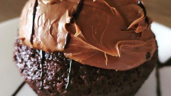 Cupcakes σοκολάτας με μπανάνα – Chocolate – Banana cupcakes