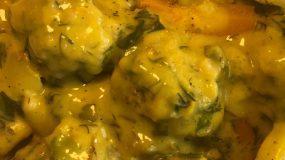 Υπέροχη συνταγή για γιουβαρλάκια αλά κρεμ