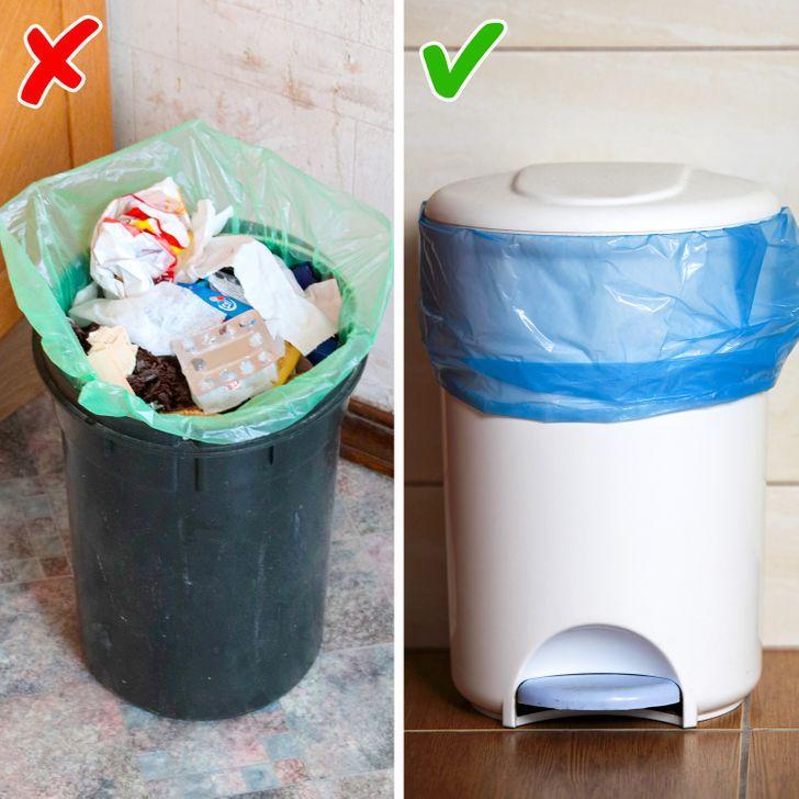 κάδοι σκουπιδιών για την κουζίνα