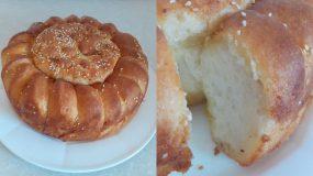 Συνταγή για αφράτο ψωμί με βούτυρο