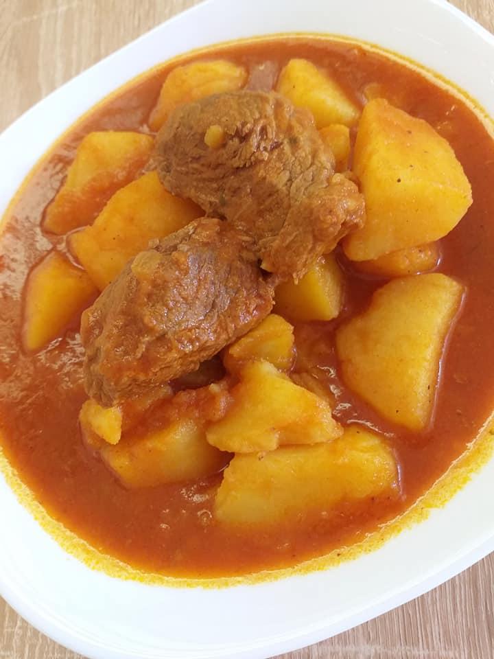 Πατάτες γιαχνί με μοσχάρι συνταγή
