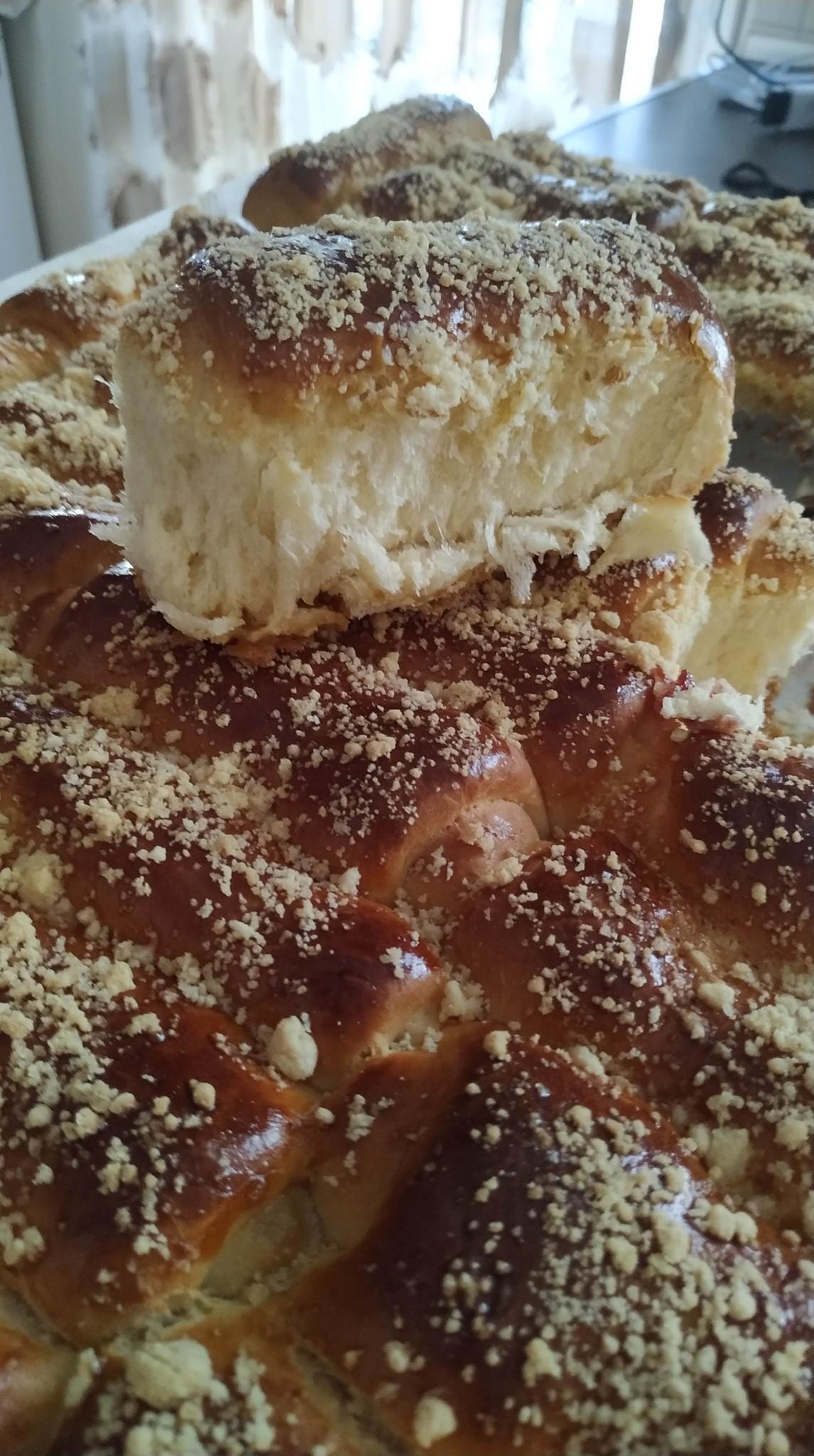 τσουρέκι με ζαχαρούχο συνταγή