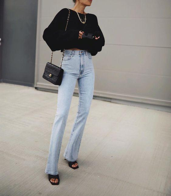 Τάσεις στα γυναικεία jean παντελόνια: ψηλοκάβαλο ξεβαμμένο jean παντελόνι