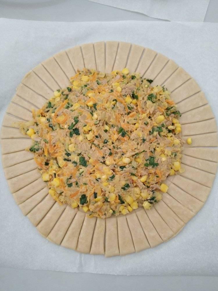 συνταγή για αλμυρές τάρτες με τόνο