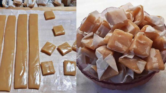 Συνταγή για υπέροχες καραμέλες γάλακτος ή βουτύρου – Ίδιες με τις αγοραστές