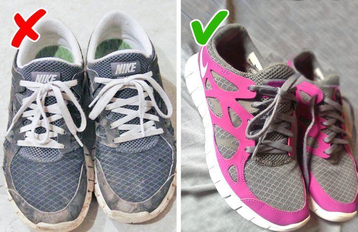 10 μικρά πράγματα που μπορούν να κάνουν κάθε γυναίκα να φαίνεται λίγο ακατάστατη: βρώμικα παπούτσια