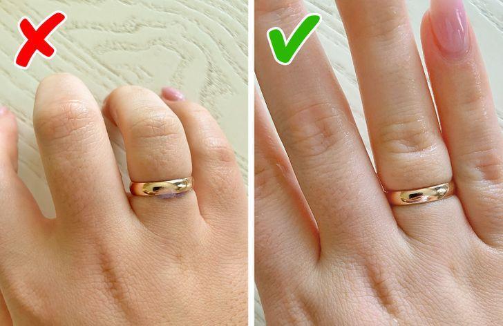 10 μικρά πράγματα που μπορούν να κάνουν κάθε γυναίκα να φαίνεται λίγο ακατάστατη: σαπούνι κάτω από τα δαχτυλίδια