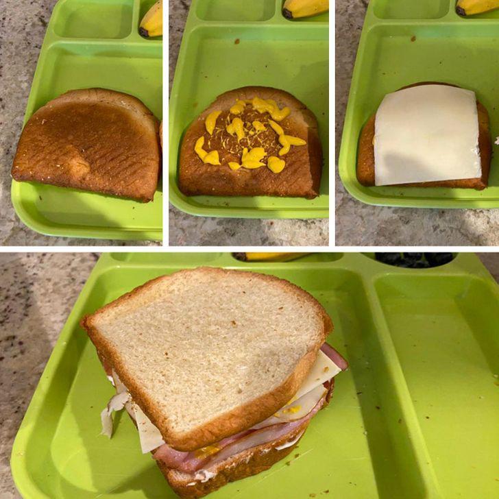 15 έξυπνα κόλπα γονέων: πως θα κάνεις το παιδί να φάει το τελευταίο ψωμί του τοστ
