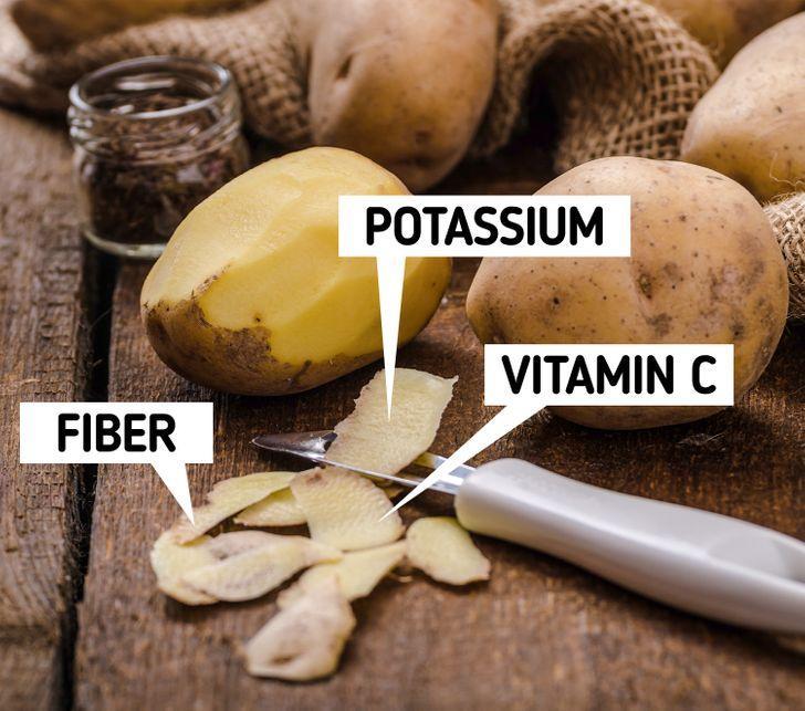 8 μικρές συνήθειες που θα επιταχύνουν την απώλειας βάρους σας: κατανάλωσε φρούτα και λαχανικά με την φλούδα τους