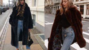 Tedy bear coat: 15 εικόνες με γυναικείες γούνες που ταιριάζουν σε όλες τις περιστάσεις
