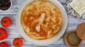 Πανεύκολο ψωμί στο τηγάνι με μόλις 5 υλικά