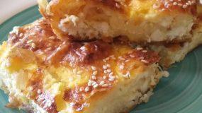 Τυρόπιτα για τις πολυάσχολες μανούλες με φύλλο κρούστας – Απλά φανταστική