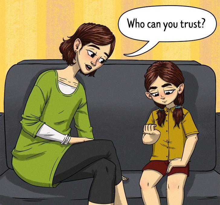 """7 τρόποι για να διδάξετε στα παιδιά το """"ασφαλές"""" και το """"μη ασφαλές"""" άγγιγμα: ονοματίστε εκείνους που το παιδί μπορεί να εμπιστευτεί"""