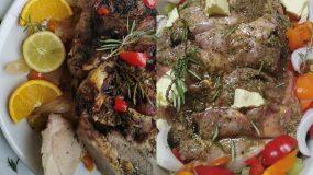 Χοιρινή σπάλα στον φούρνο – Σκέτο λουκούμι