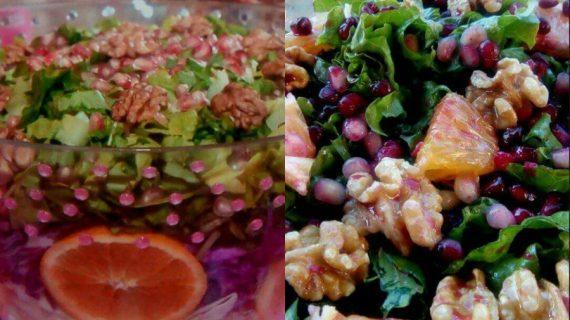 Υπέροχη & χρωματιστή σαλάτα εποχής