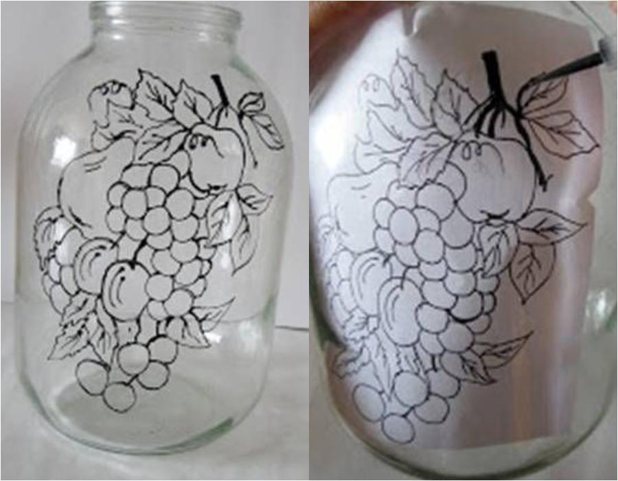 Πώς να μεταμορφώσετε σε μικρά έργα τέχνης τα γυάλινα βάζα σας  με τη μέθοδο της ζωγραφικής