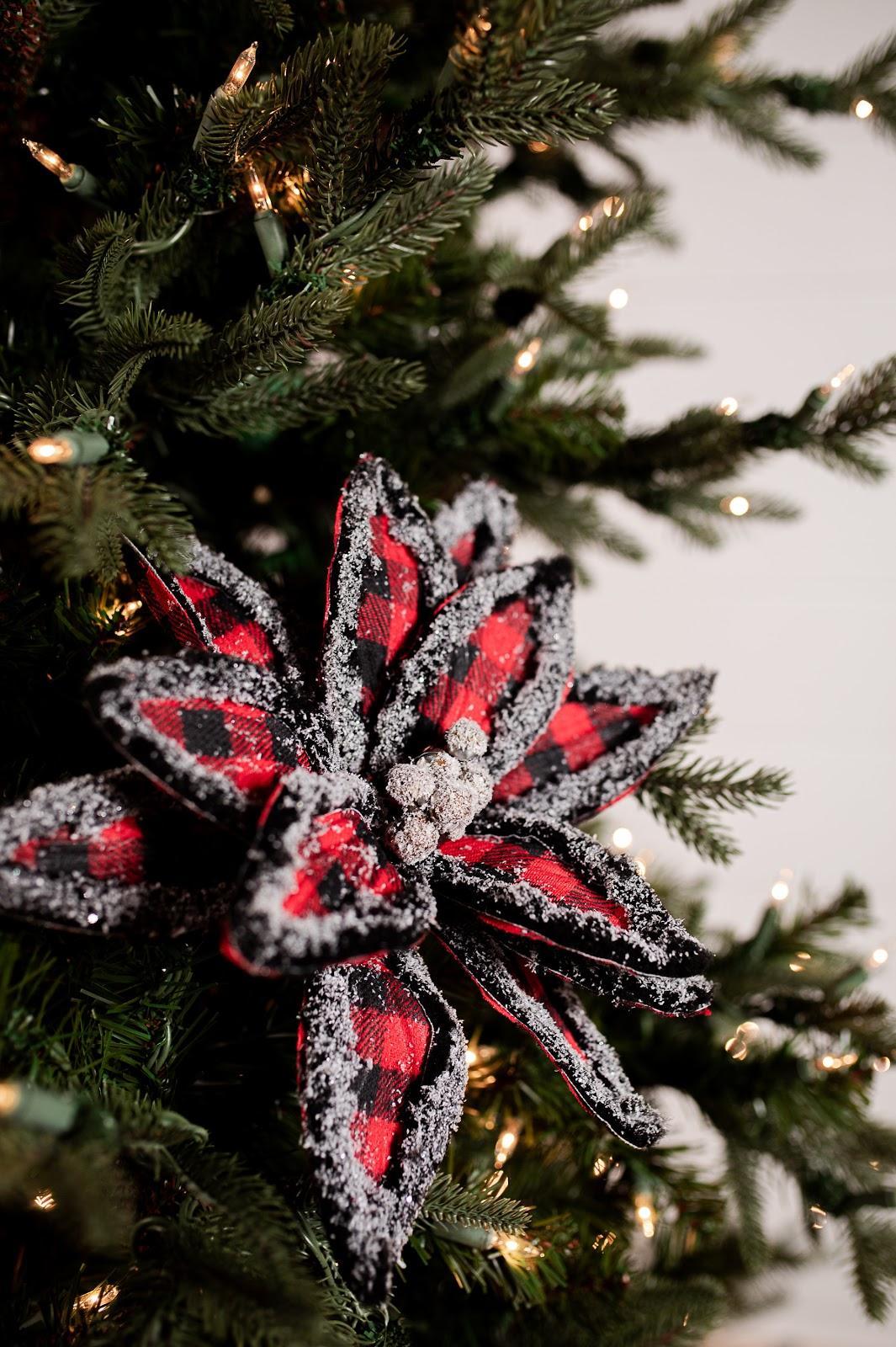 Christmas Decorating Trends 2020: Χριστουγεννιάτικος στολισμός δέντρου με καρό στολίδια