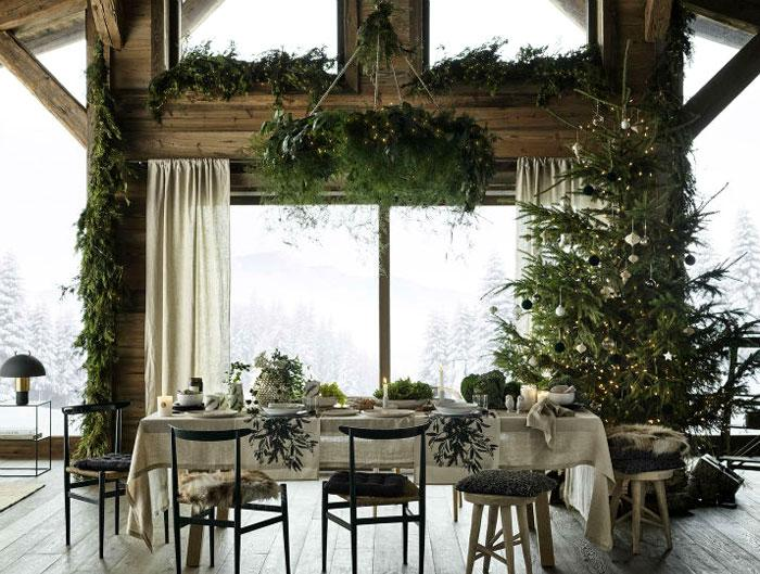 Christmas Decorating Trends 2020: Minimal χριστουγεννιάτικη διακόσμηση!