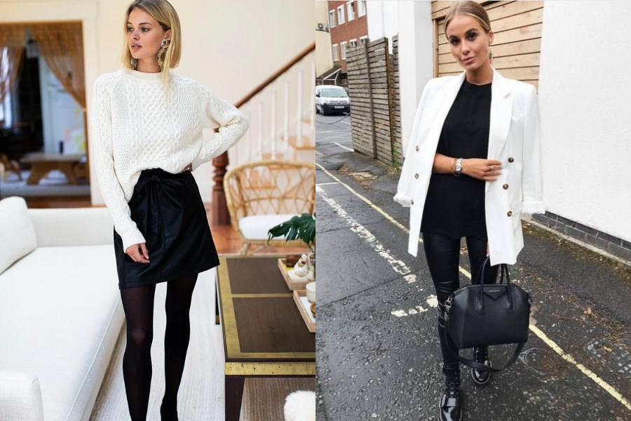 Black & white outfits: 15 μοντέρνες προτάσεις με ασπρόμαυρα outfits για σικ & trendy εμφανίσεις
