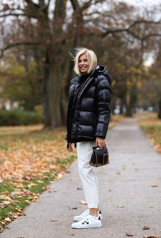 Puffer jackets: μαύρο puffer jacket