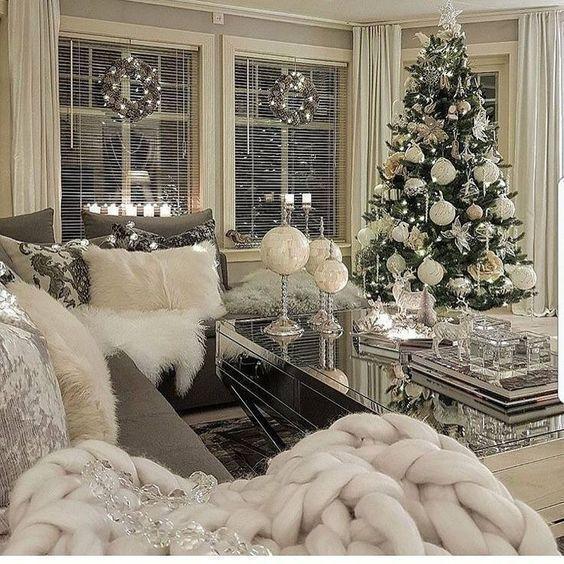 Χριστουγεννιάτικη διακόσμηση: κεριά