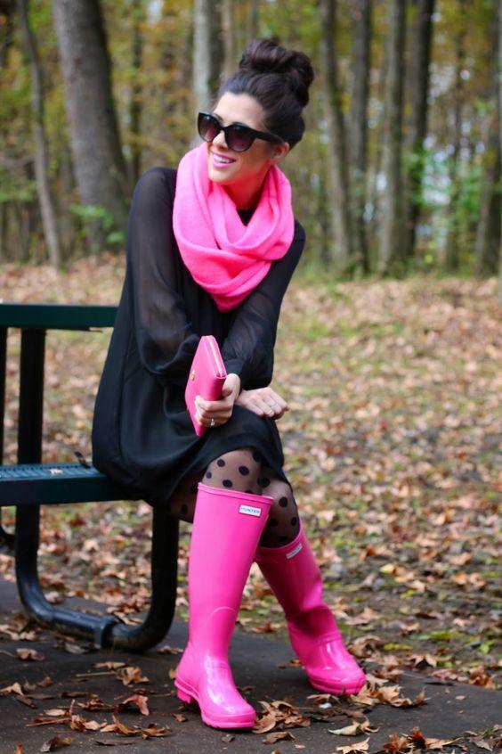 Γαλότσες: Σε ροζ χρώμα