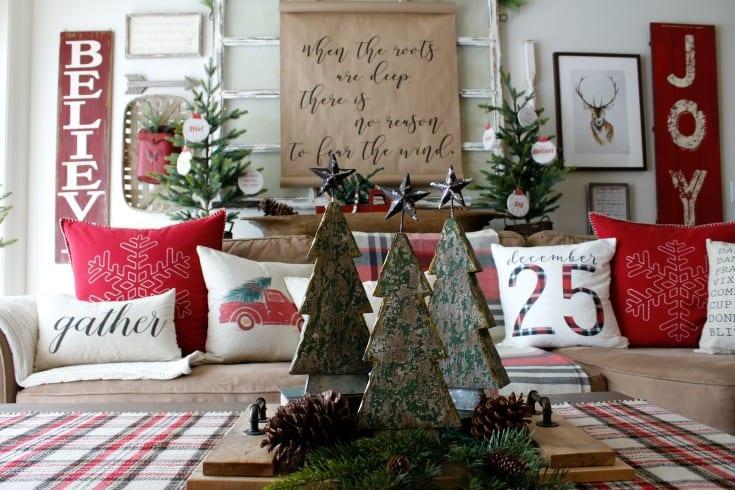 Χριστουγεννιάτικη διακόσμηση: Οι τάσεις για το 2020-2021 παραδοσιακός Χριστουγεννιατικος στολισμός