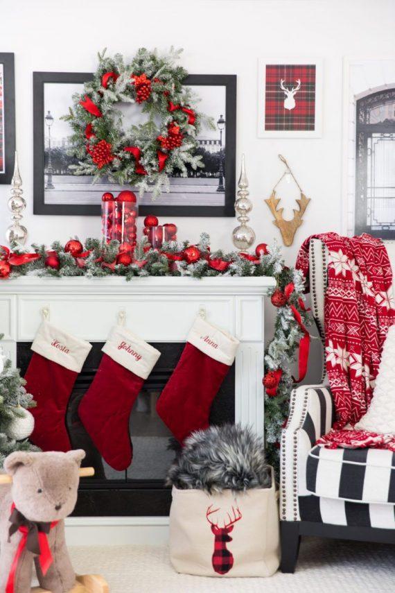 Χριστουγεννιάτικη διακόσμηση: παραδοσιακός Χριστουγεννιατικος στολισμός