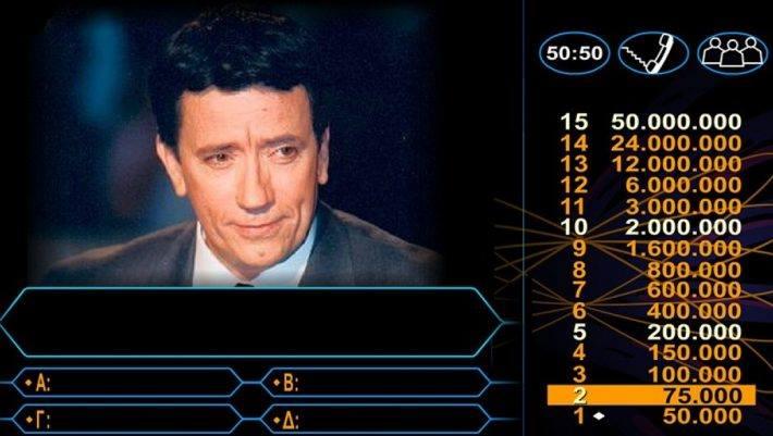 Οι 15 ερωτήσεις που απάντησε ο πρώτος νικητής στον «Εκατομμυριούχο»! Θα κάνεις το 15/15;