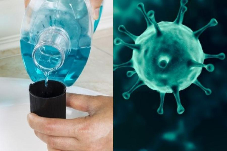 """Κορονοϊός: Στοματικά αντισηπτικά διαλύματα που εξουδετερώνουν τον ιό σε 30"""" – Τί λέει η έρευνα;"""