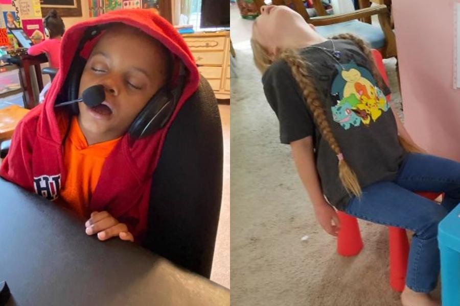 11 φωτογραφίες παιδιών που έκαναν εξ αποστάσεως διδασκαλία – Καταθλιπτικές & ξεκαρδιστικές ταυτόχρονα