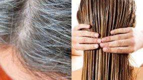 Φτιάξτε σπιτική κρέμα μαλλιών και απαλαγείται από τις άσπρες τρίχες