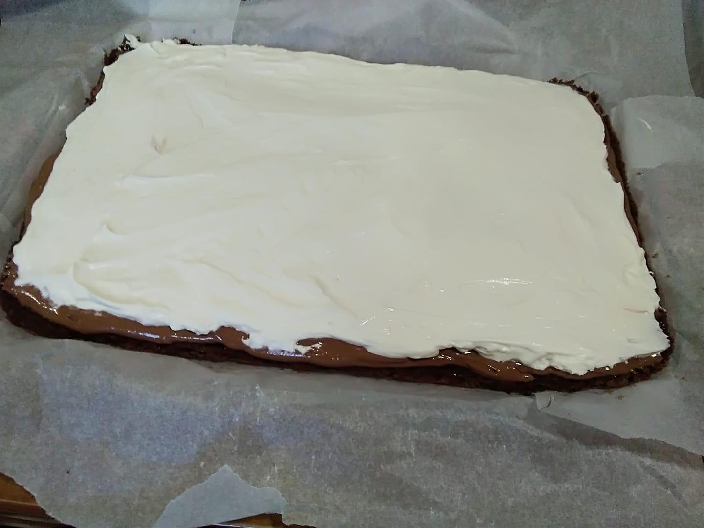 τούρτα με γέμιση Merenda συνταγή