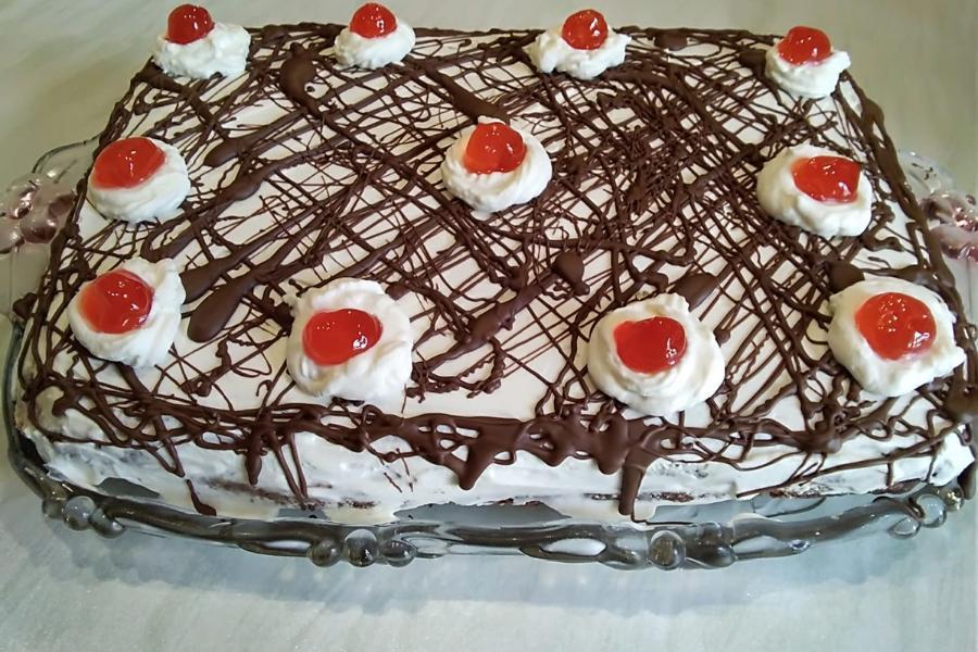 Νόστιμη τούρτα με γέμιση Merenda – Υπέροχη συνταγή