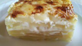 Συνταγή για πατάτες gratin dauphinois