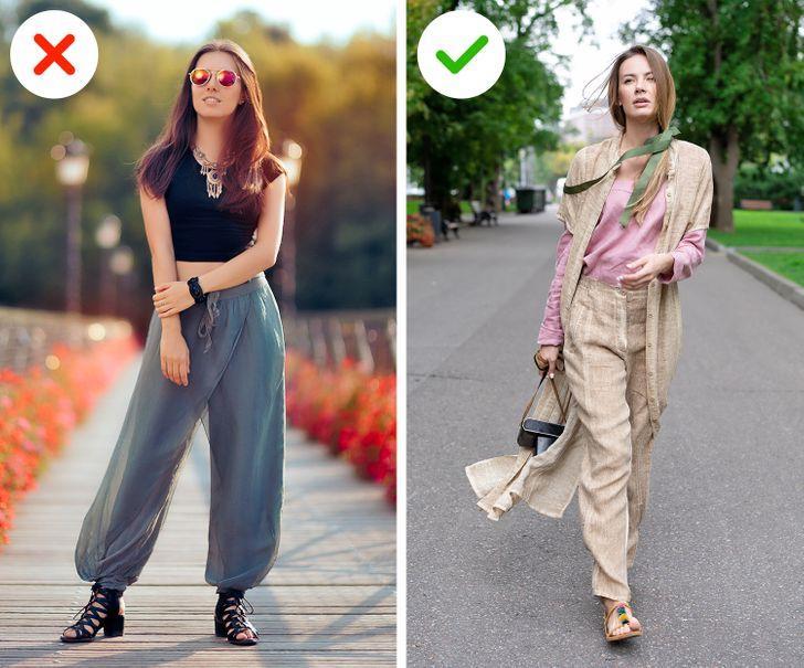 Κακόγουστα ρούχα: Oversized παντελόνια