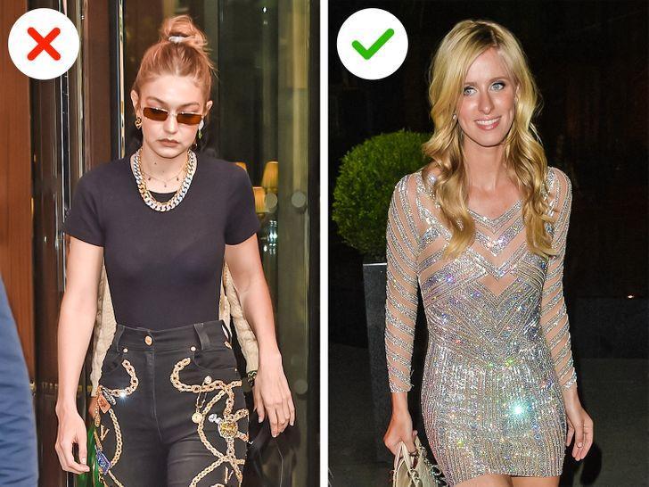 Κακόγουστα ρούχα: Ρούχα με στρας και χρυσόσκονη