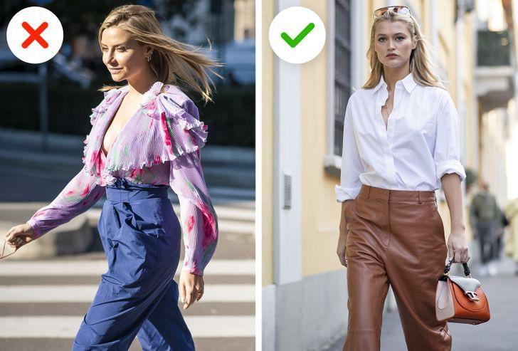 Κακόγουστα ρούχα: Μπλούζες με μεγάλο γιακά
