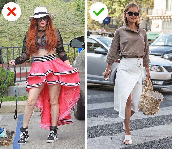 Κακόγουστα ρούχα: Mullet φούστα