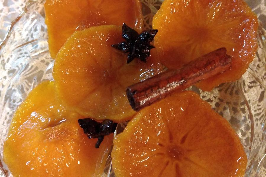 Νόστιμο γλυκό του κουταλιού με λωτό – Πρέπει να το δοκιμάσετε