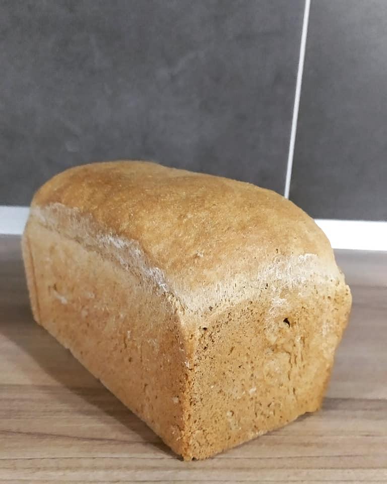 σπιτικό ψωμί του τοστ με αλεύρι ολικής άλεσης συνταγή