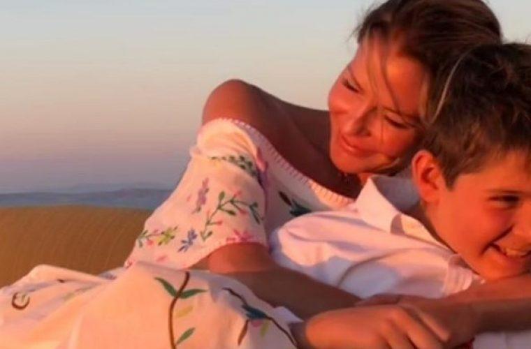 Γενέθλια για την Τζένη Μπαλατσινού- Το υπέροχο δώρο του γιου της Μάξιμου (εικόνα)