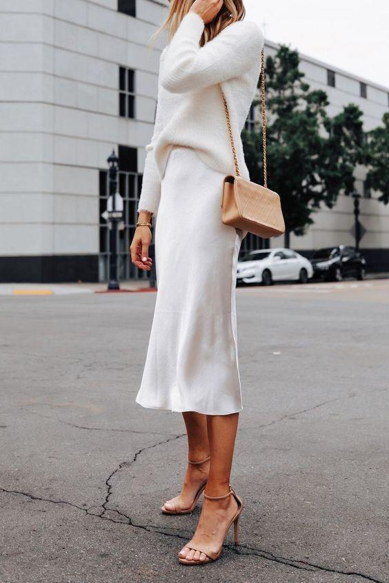 Total white outfits